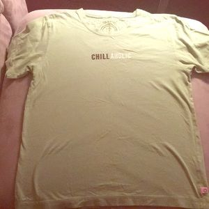 Life is Good Green T Shirt